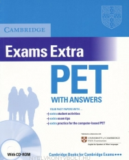 Cambridge PET Exams Extra Official Examination Past Papers Student's Book with Answers and CD-ROM Self-Study Pack