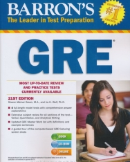 Barron's GRE with CD-ROM 21st Edition