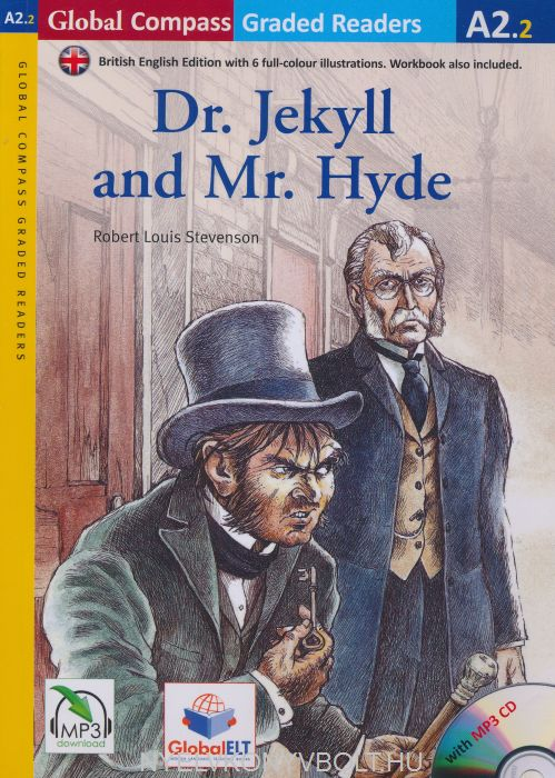Dr. Jekyll and Mr. Hyde with MP3 Audio CD- Global ELT Readers Level A2.2