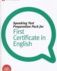 Speaking Test Preparation Pack for First Certificate in English with DVD