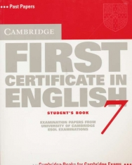 Cambridge First Certificate in English 7 Examination Papers Student's Book
