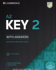 A2 Key 2 for the Revised 2020 Exam - Student's Book with Answers with Audio and Resource Bank - Authentic Practice Tests