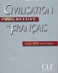 Civilisation progressive du français Niveau intermédiaire Livre