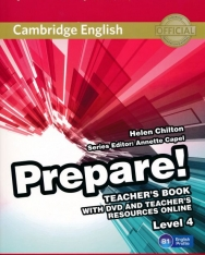 Cambridge English Prepare! Teacher's Book Level 4 with DVD & Teacher's Resource Online