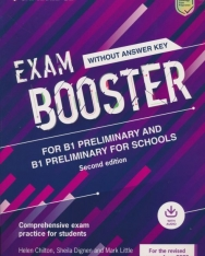 Cambridge English Exam Booster for B1 Preliminary and  Preliminary for Schools without Answer Key with Audio - Comprehensive Exam Practice for Students