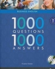 1000 Questions & Answers Business English - 1000 kérdés és válasz angolul üzleti MP3 CD melléklettel