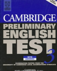 Cambridge Preliminary English Test 3 Official Examination Past Papers Student's Book with Answers and 2 Audio CDs Self-Study Pack