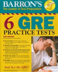 Barron's 6 GRE Practice Tests - 2nd Edition