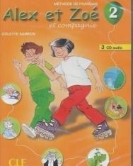 Alex et Zoé et compagnie 2 Nouvelle Édition - Méthode de Francais - CD Audio pour la classe (3)