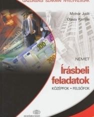 Gazdasági szakmai nyelvvizsgák - Írásbeli feladatok Német középfok/felsőfok