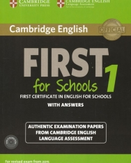 Cambridge English First for Schools With Answer and with Audio CDs (2) - For revised exam from 2015