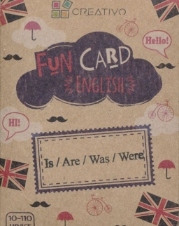 Fun Card English: Is/Are/Was/Were