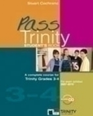 Pass Trinity 3-4 Student's Book with Audio CD