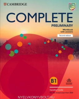 Complete Preliminary Workbook with Answers with Audio - For the Revised Exam from 2020