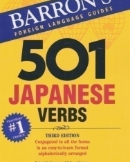 501 Japanese Verbs - Barron's Foreign Language Guides