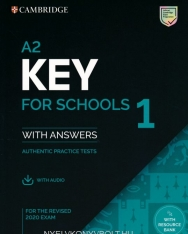 A2 Key for Schools 1 for the Revised 2020 Exam Student's Book with Answers with Audio Download - Authentic Practice Tests