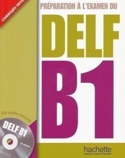 Préparation a l'examen du DELF B1 Livre + Audio CD
