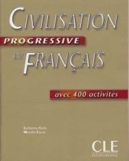 Civilisation progressive du français Niveau débutant Livre