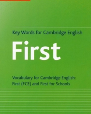Collins Cobuild - Key Words for Cambridge English First - Vocabulary for Cambridge English FCE and First for Schools