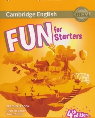 Fun for Starters 4th Edition Teacher's Book with Audio