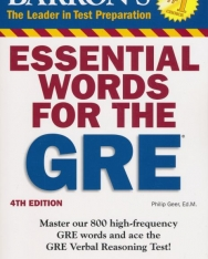 Barron's Essential Words for the GRE 4th Edition
