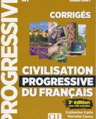 Civilisation progressive du français - Niveau débutant (A1) - Corrigés - 3eme édition