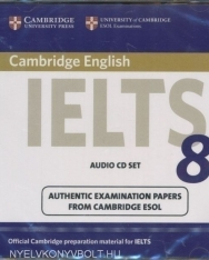 Cambridge IELTS 8 Official Examination Past Papers Audio CDs (2)