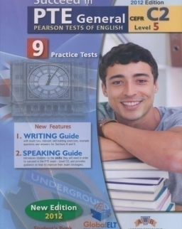 Succeed in PTE General Level 5 C2 - 9 Practice Tests - Self Study Edition (Student's Book, Self Study Guide and Audio MP3 CD)