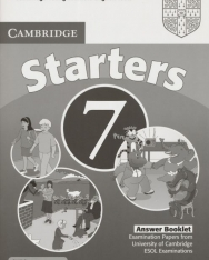 Cambridge Young Learners English Tests Starters 7 Answer Booklet