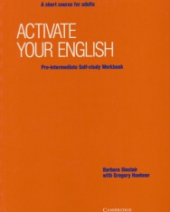 Activate your English Pre-Intermediate - A Short Course for Adults Self-Study Workbook