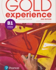 Gold Experience (2nd Edition) B1 Preliminary for Schools Teacher's Book with Online Practice & Online Resources