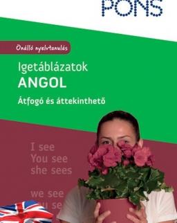 PONS Igetáblázatok Angol - Átfogó és áttekinthető