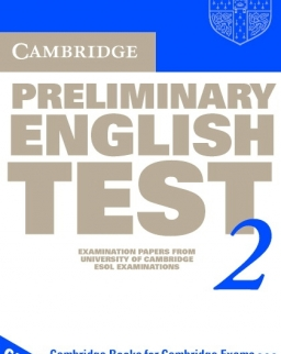Cambridge Preliminary English Test 2 Official Examination Past Papers 2nd Edition Audio Cassettes (2)