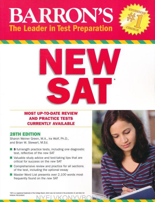 Barron's New SAT 28th Edition