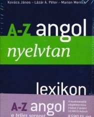 A-Z Angol Csomag - Nyelvtan, gyakorlókönyv, kiejtés