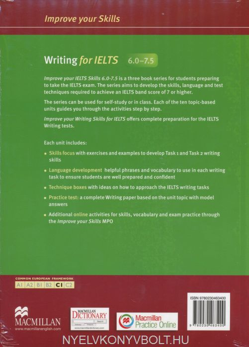 how to improve writing skills in english for ielts Did you know that the ielts writing usually scores 4 top tips for your ielts 7 responses to 4 top tips for your ielts essay – task 2 | how to improve ielts.