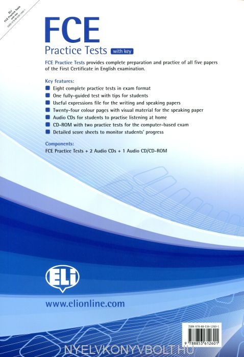 FCE Use of English exercises Training in how to answer