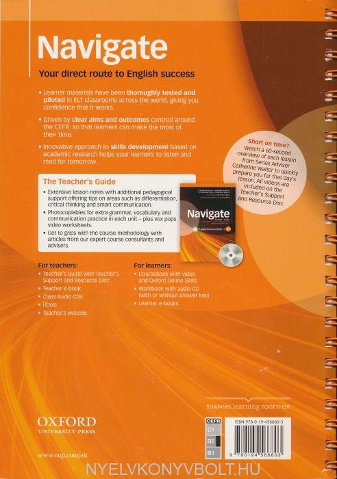 Navigate Upper Intermediate B2 Teacher\'s Guide with Teacher\'s ...