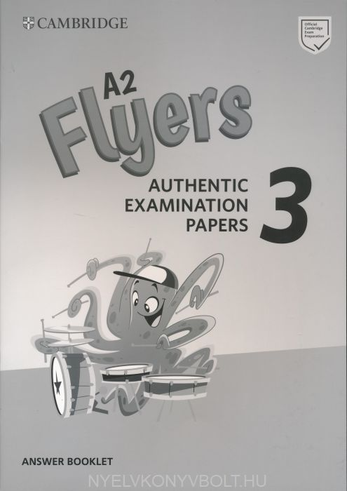 Cambridge English Flyers 3 Answer Booklet for Revised Exam