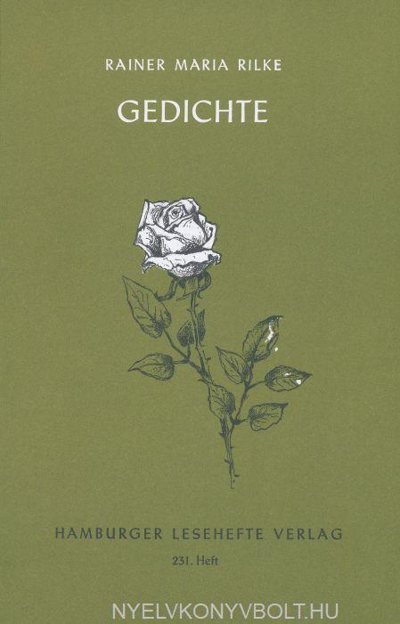 Rainer Maria Rilke Gedichte Hamburger Lesehefte