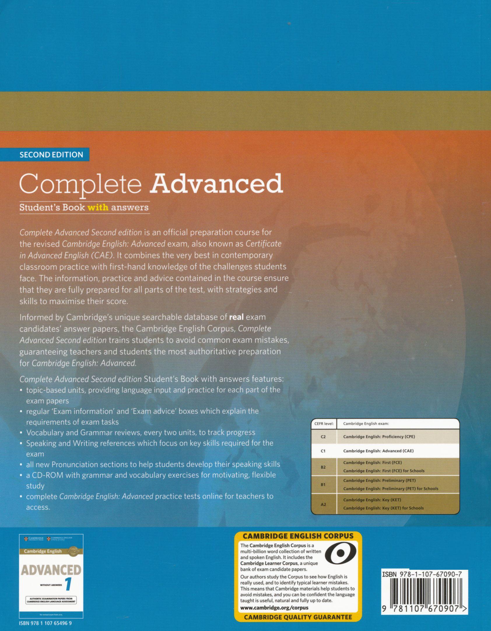 Cambridge Complete Cae Students Book