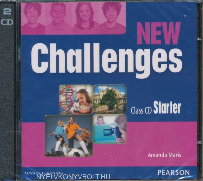 New Challenges Starter Class CDs | Nyelvkönyv forgalmazás