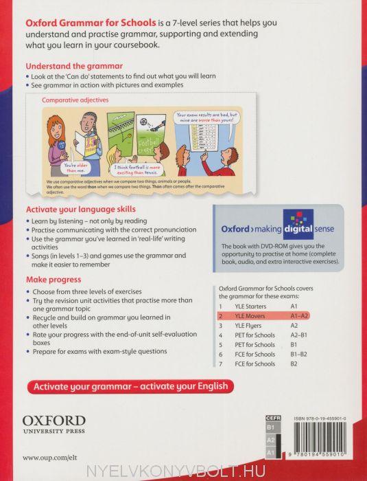 Oxford Grammar For Schools 2 Student's Book   Nyelvkönyv