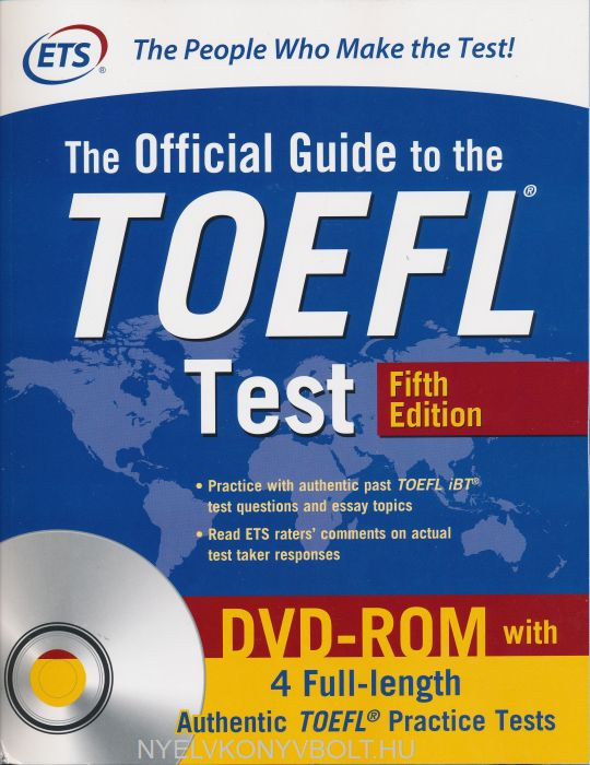 Ets Official Guide To The Toefl Test With Dvd Rom 5th Edition