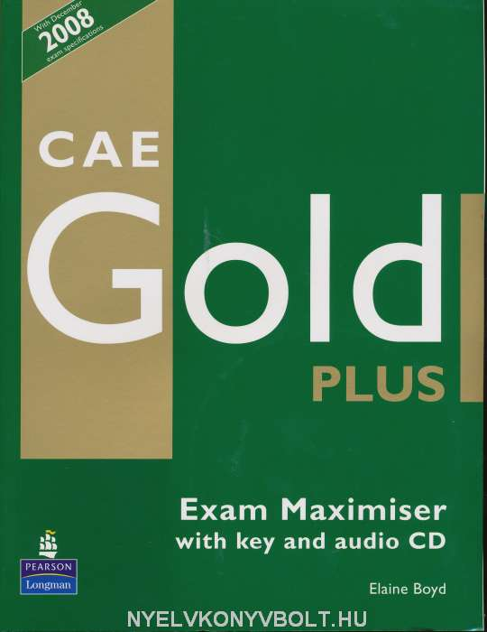 Fce gold plus exam maximiser with key and audio cd download.