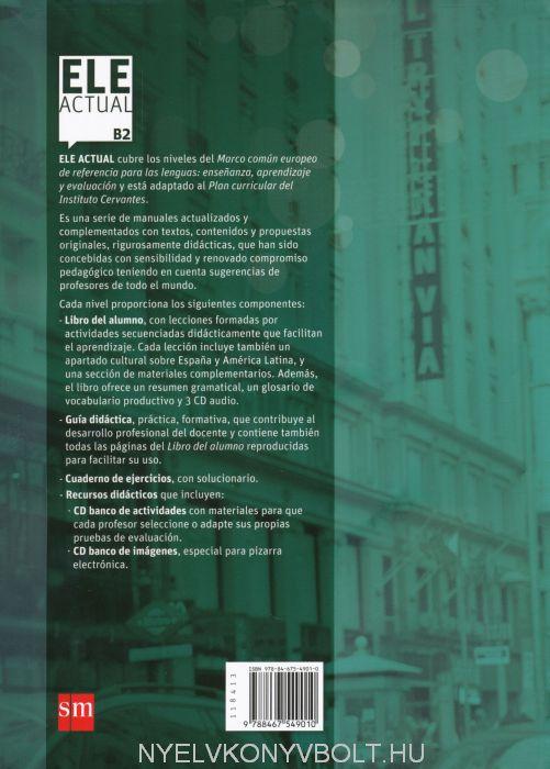 ELE Actual B2 Libro del alumno con CD audio - Curso de