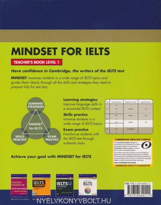 Cambridge English Mindset for IELTS Teacher's Book | Nyelvkönyv
