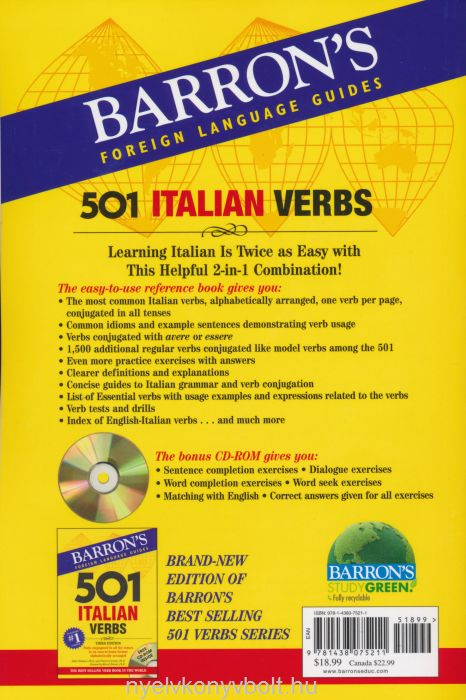 Learn Italian the Fast and Fun Way with MP3 CD | Book by ...
