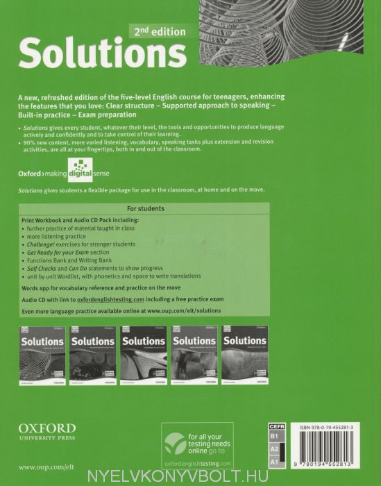 гдз к solutions elementary workbook онлайн