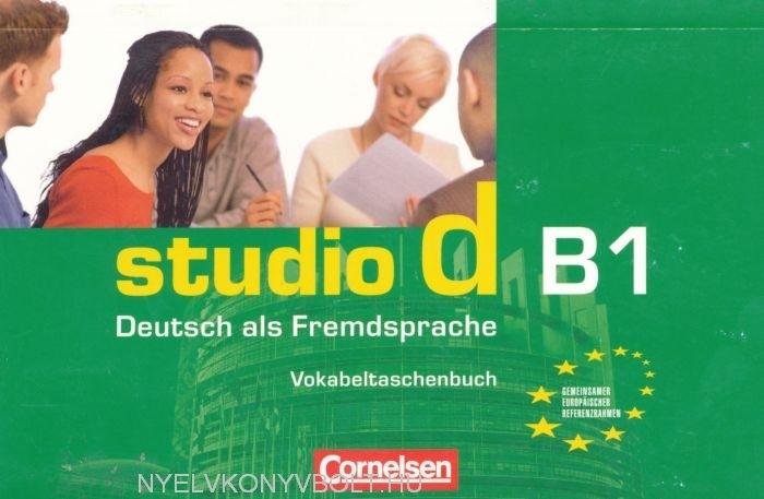 studio d b1 deutsch als fremdsprache vokabeltaschenbuch nyelvk nyv forgalmaz s. Black Bedroom Furniture Sets. Home Design Ideas